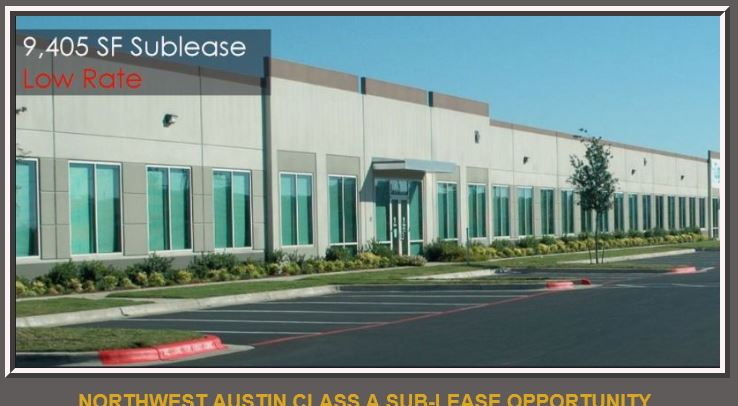 Austin Office Sublease